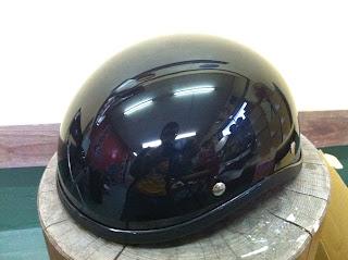 911725820 - カスタムペイント工程  ダックテールヘルメット 仏フレイムス