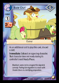 My Little Pony Bale Out! Equestrian Odysseys CCG Card
