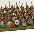 28mm Greek Mercenary Hoplites