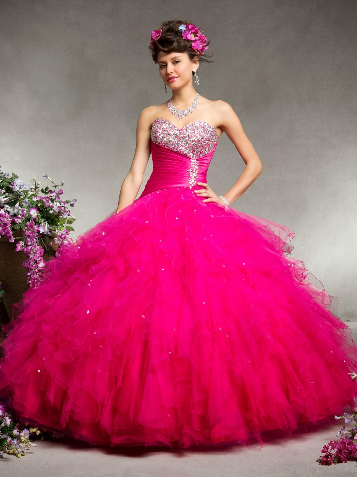 Fabulosos vestidos de 15 años | Moda y tendencias | 101 Vestidos de ...
