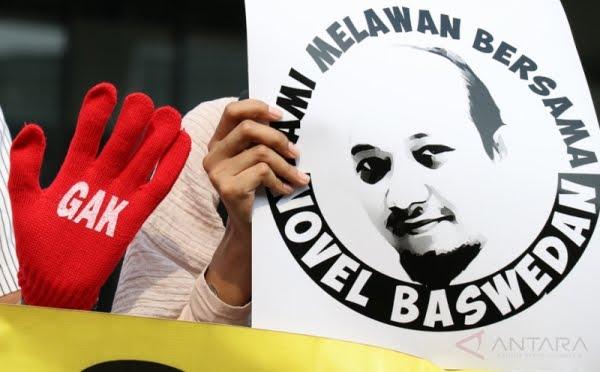Mangkrak Setahun Kasus Novel, ICW: Pemerintah Ayo Bentuk TGPF