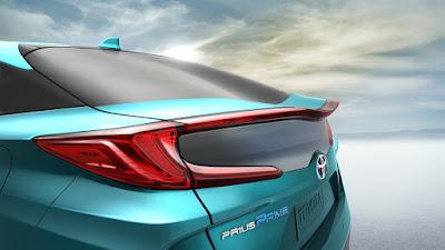 2017 Toyota Prius Prime Taillight