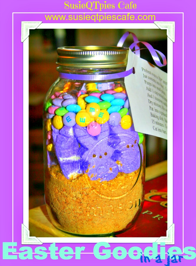 SusieQTpies Cafe: Easter Goodies In A Jar