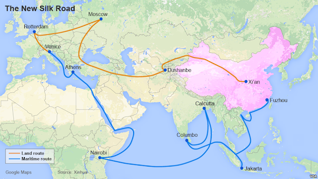 #Business,#TrueNews : Silk Road plan doesn't work. China factory  output slows  in April .