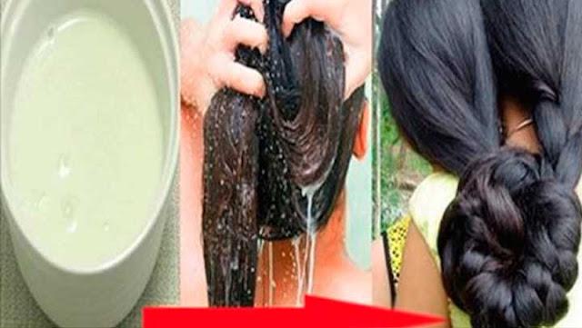 Como hacer el mejor tratamiento capilar para que tu cabello crezca tan largo como el de esta mujer.