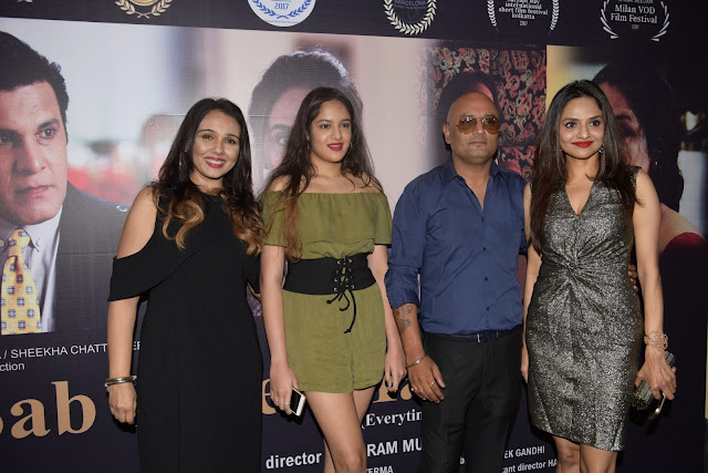 11. Suchitra Krishnamurthi, Raja Ram Mukerji and Madhoo Shah with Daughter
