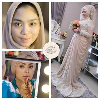 Hijab Kebaya Pengantin Muslimah
