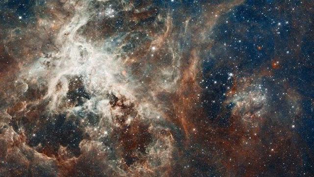 En el espacio hay una 'tarántula' y fue captada por la NASA