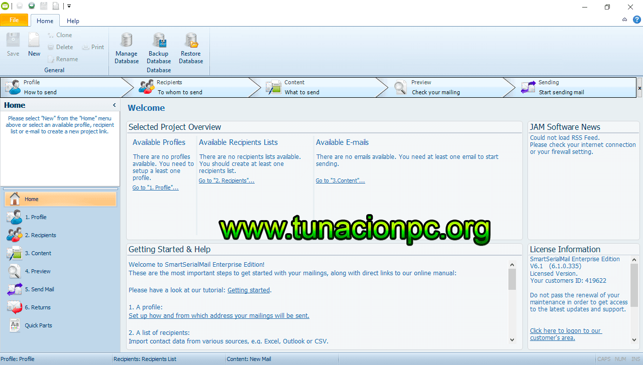 SmartSerialMail Full Español Gratis mas Licencia