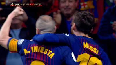 Final Copa Del Rey Sevilla 0 vs 5 Barcelona 21-04-2018