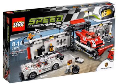 TOYS : JUGUETES - LEGO Speed Champions  75876 Porsche 919 Hybrid and 917K Pit-Lane  Producto Oficial 2016 | Piezas: | Edad: 8-14 años  Comprar en Amazon España & buy Amazon USA