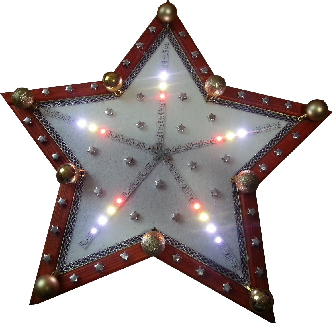 WPQREK - Things that I made!: Christmas Star Ornament made