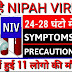 Nipah Virus -Symptoms Causes And Prevention