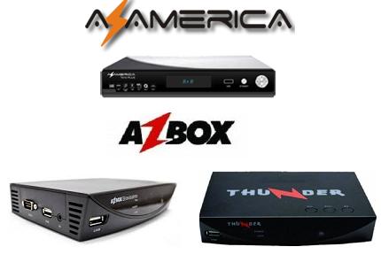 AZBOX THUNDER / BRAVISSIMO PLUS ATUALIZAÇÃO MODIFICADA S-1008