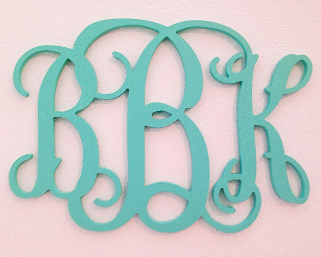 Wall Monogram | Live The Prep Life