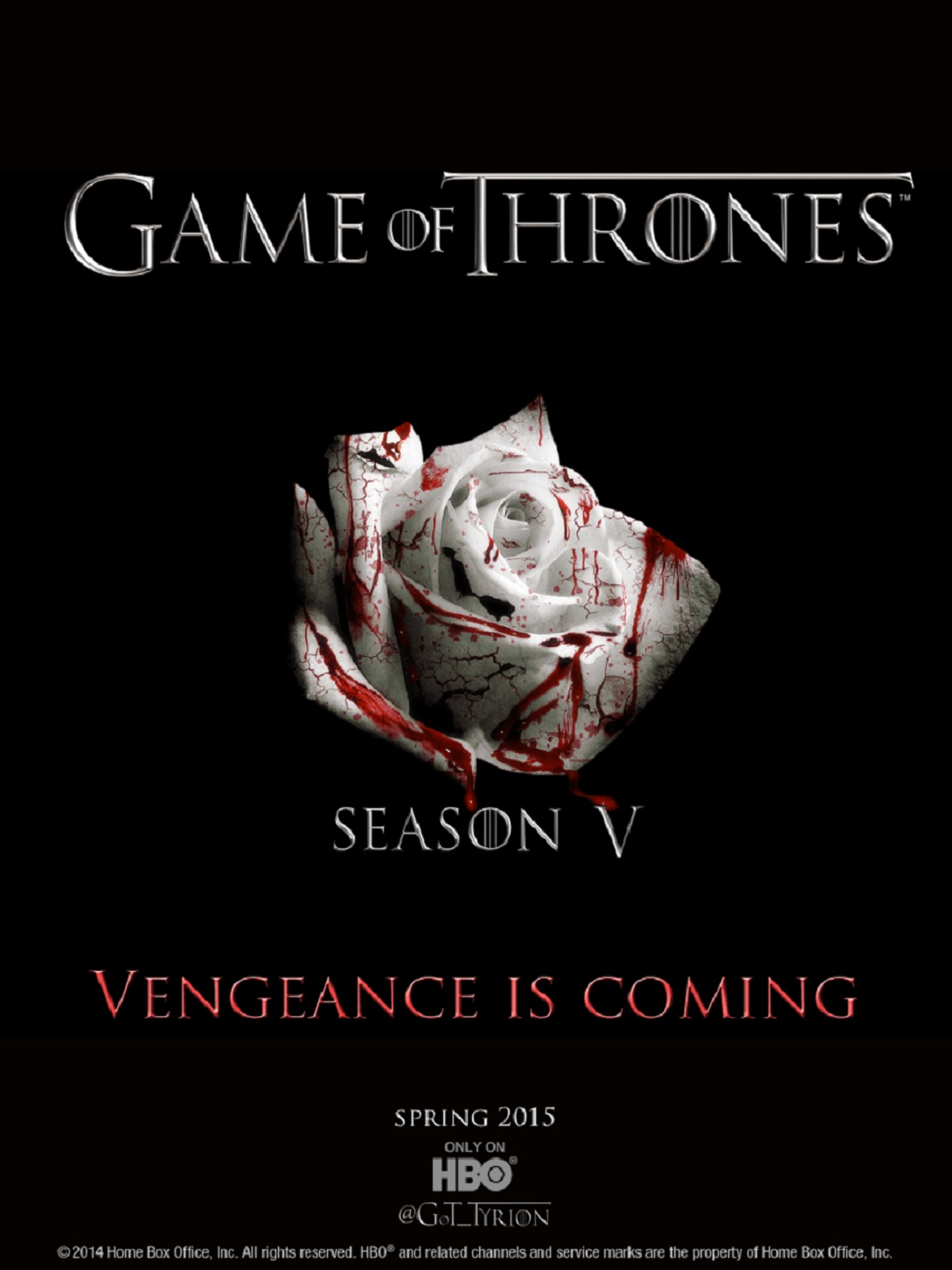 Game of Thrones 5ª Temporada Torrent - BluRay 720p/1080p Dual Áudio