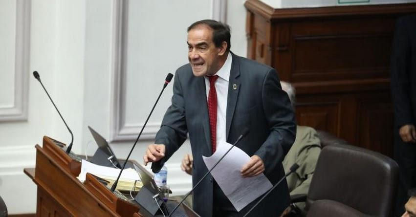 YONHY LESCANO: Pleno del Congreso aprueba suspender a parlamentario por 120 días