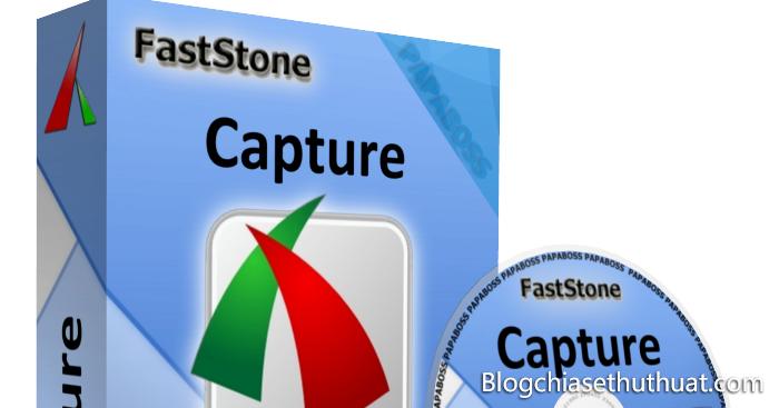 Download FSCapture 8.5 - Phần mềm chụp ảnh và quay video màn hình máy tính