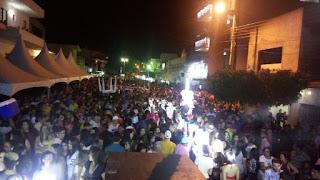 Multidão lota festa de posse do prefeito e vice de Picuí