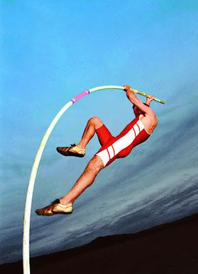 Atletik Lompat Tinggi Galah