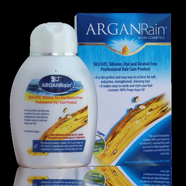 arganrain shampoo product