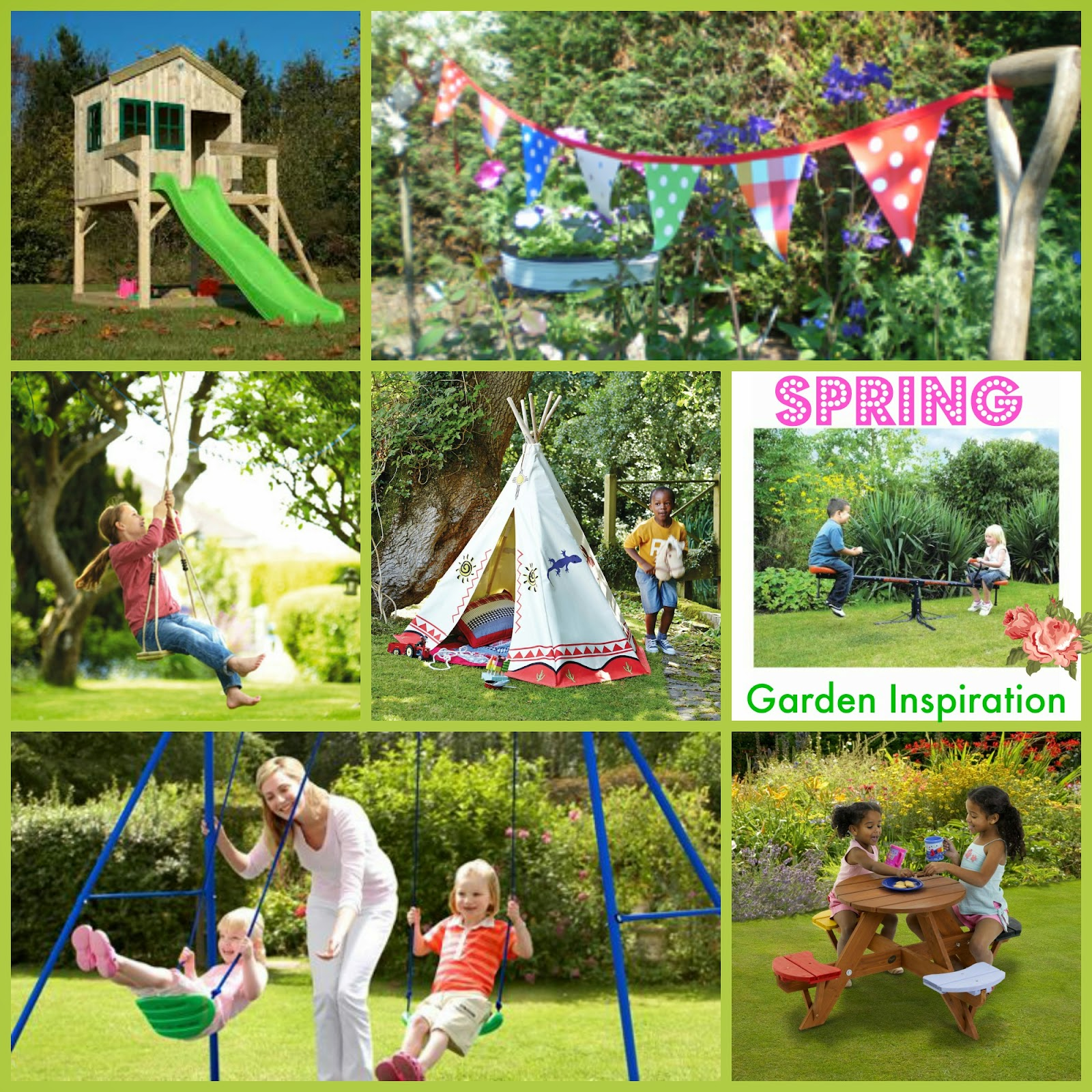 Outdoor Toys Spring Garden Inspiration