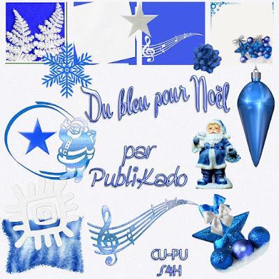 Du bleu pour Noel - CU