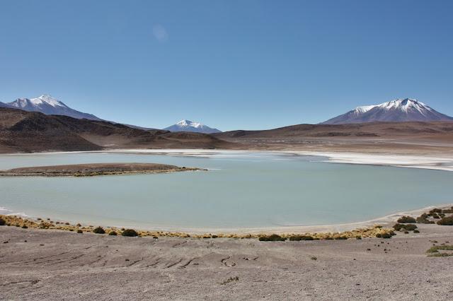 Laguna Hedionda, uma das lagunas altiplânicas da Bolívia