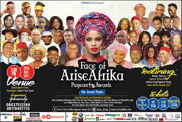 Facae of Arise AFrika Banner