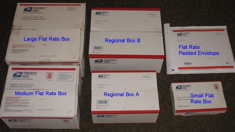 data eliberării: marca faimoasa diferit United States Postal Service - Flat Rate Box Ups - Box Information ...