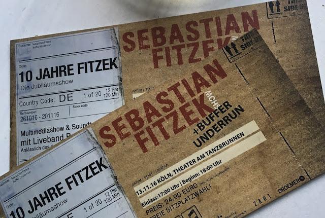 10 Jahre Fitzek - Jubiläumstour mit dem Paket