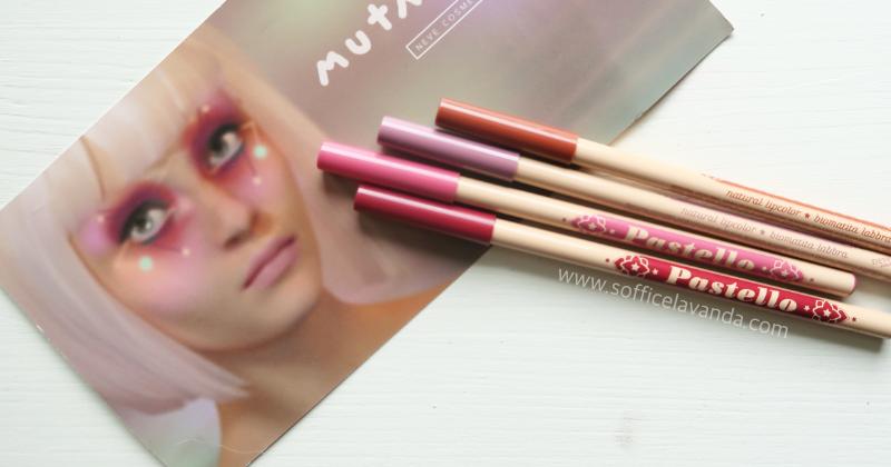 Neve cosmetics collezione Mutation: prime impressioni, swatches, comparazioni (matite labbra)