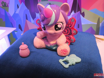 MLP New Explore Equestria Baby Flurry Heart at the NY Toy Fair 2016