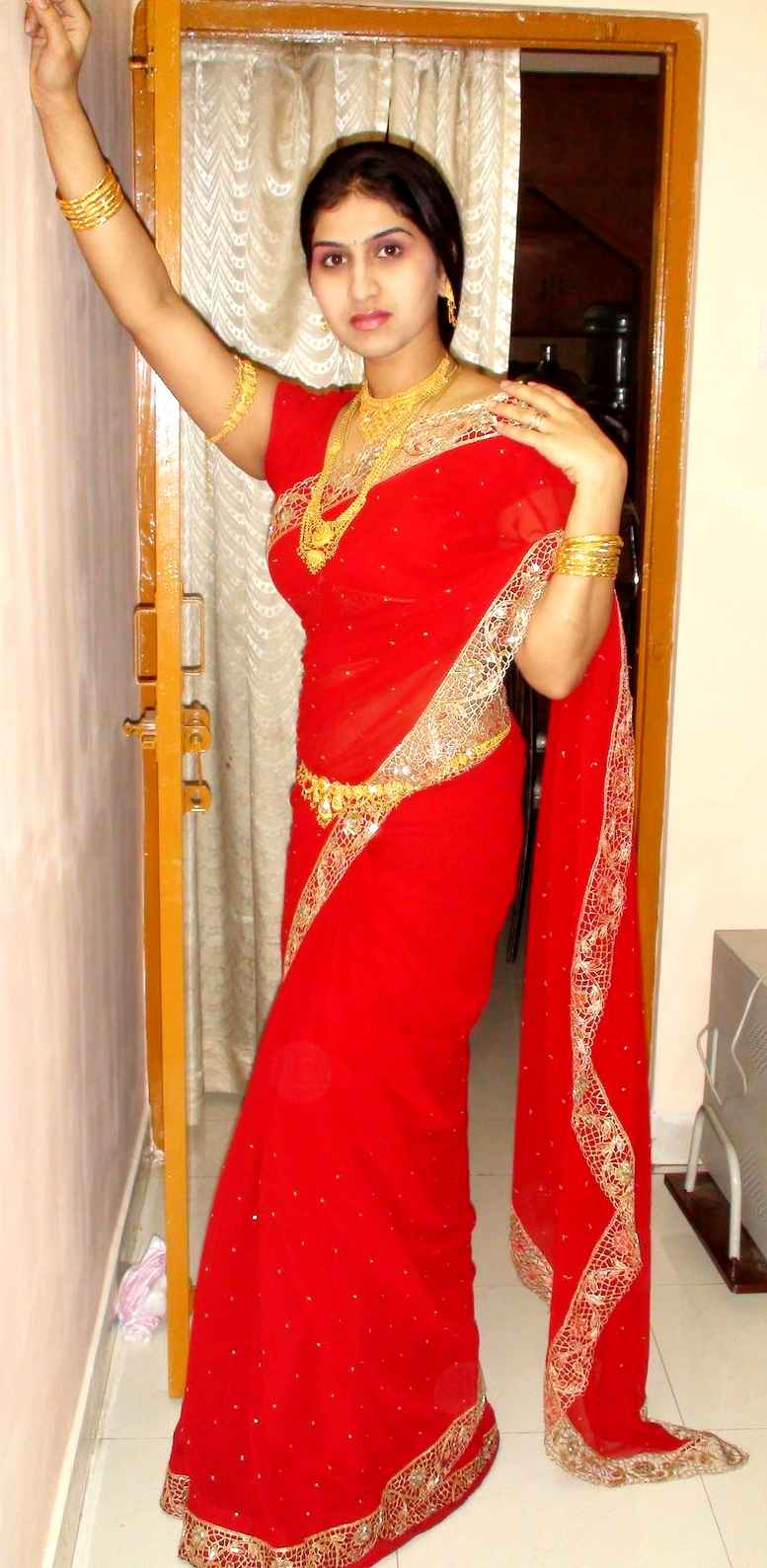 Telugu Web World Desi Babes In Beautiful Traditional Sarees-4713