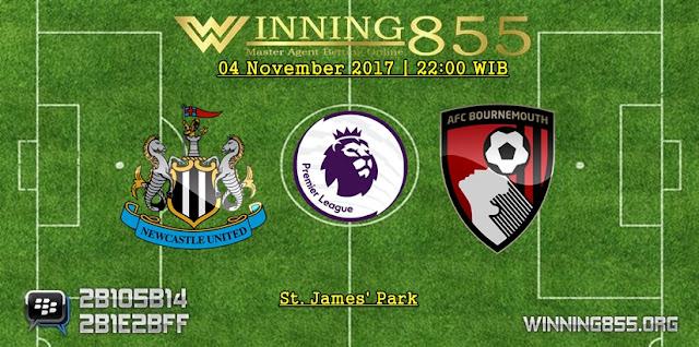 Prediksi Akurat Newcastle vs Bournemouth | 04 November 2017