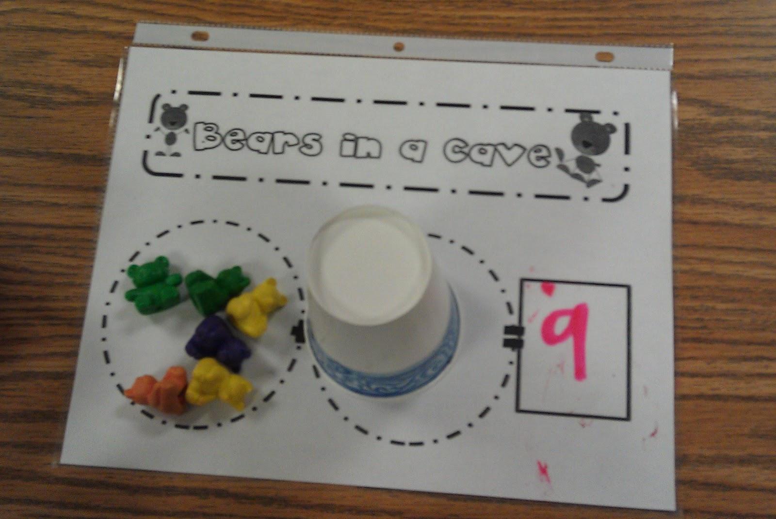 Kindergarten Kel Kindergarten Bear Unit