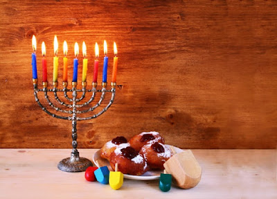 Happy Hanukkah Blessings Lyrics in English