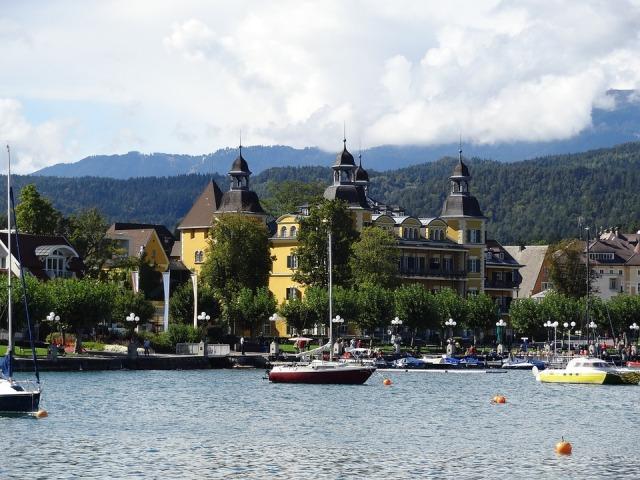 Danau Worthersee, Carinthia, Austria