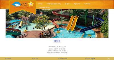 www.cxwaterparkjakarta.com