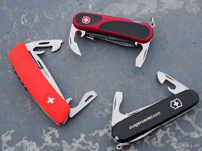SAK Werkzeuge im Vergleich