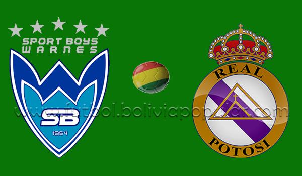 Sport Boys vs. Real Potosí - En Vivo - Online - Cuartos del Final - Play Off
