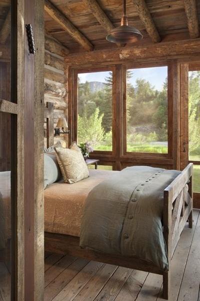 Rocky Top Log Furniture & Railing Blog: Style a Rustic ...
