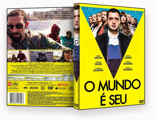 CAPA DVD – O Mundo É Seu DVD-R