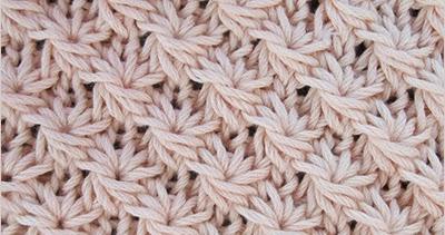 Knit Daisy Stitch Round : Daisy Stitch Knitting Stitch Patterns
