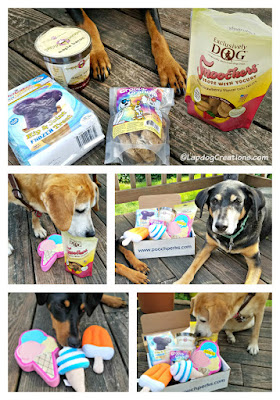pooch perks dog subscription box treats toys rescue