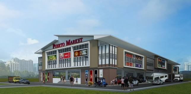 proposed 3-storey Puerto Market