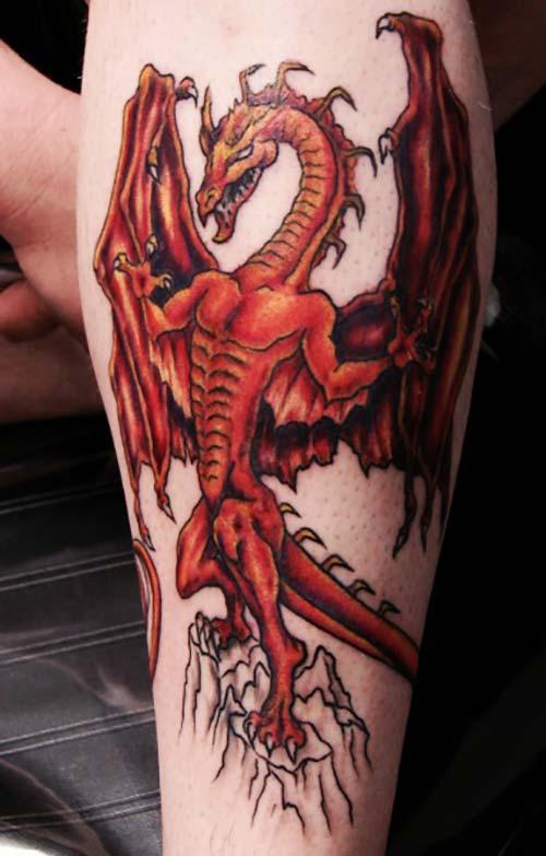 evil dragon tattoos ejderha dövmeleri