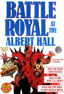 WWF / WWE: Battle Royal at the Albert Hall: Video cover featuring the Legion of Doom