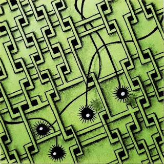 Tangle Patterns: Pezember, Lily Eyes