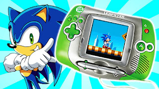 El videojuego Sonic X para la consola Leapster